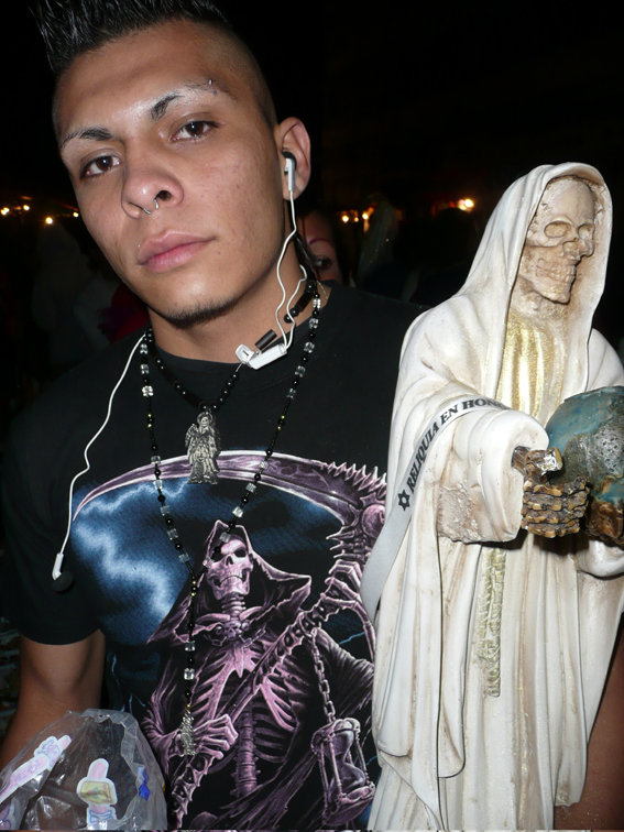 sc 1 st  kurt hollander & La Santa Muerte | kurt hollander